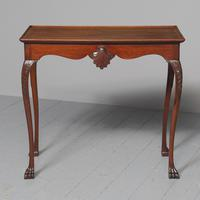 Antique Georgian Style Mahogany Silver Table c.1850 (2 of 7)