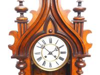 Wow! Antique German Spring Driven Striking 8-day Vienna Wall Clock by Peerless (11 of 12)
