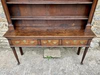 18th Century Georgian Oak Dresser (10 of 16)
