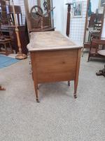 Edwardian Leather Top Desk (5 of 7)
