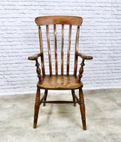 Windsor Lathback Armchair, c.1890 (2 of 6)