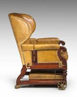 19th Century Invalids' Chair, Stamped J. Ward (7 of 8)