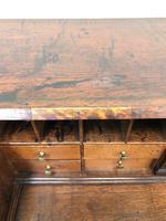 Large Georgian Oak Writing Bureau (10 of 13)