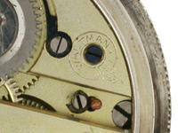 Silver Waltman Swiss Half Hunter  Pocket Watch 1900 (4 of 7)