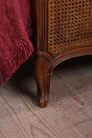 Nice Simple Louis XV Style Caned King Size Bed (3 of 7)