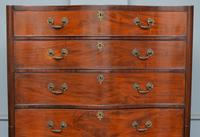 George III Mahogany Serpentine Tallboy / Chest on Chest (4 of 15)