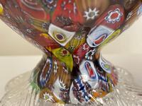 2 Beautiful Italian Murano Fratelli & Torso Millefiori Glass Vases (28 of 34)