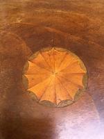 Antique Inlaid Mahogany Tripod Wine Table (6 of 6)