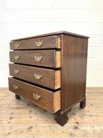 19th Century Antique Oak Chest of Drawers (8 of 9)