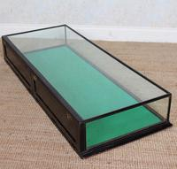 Counter Top Shop Display Cabinet Glazed Ebonised 19th Century Glass (4 of 14)