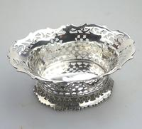 Extremely Good Solid Silver Pierced Basket / Bowl by Golds c.1899 (2 of 10)
