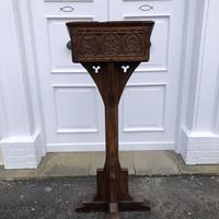 Victorian Oak Church Lectern c.1870 - Ecclesiastical Wedding Interest (15 of 16)