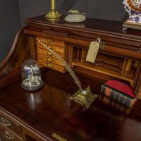 Early 20th Century Mahogany Desk (13 of 15)