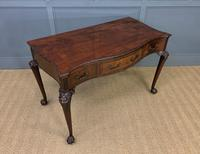 Chippendale Style Mahogany Console Table (8 of 16)