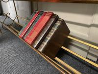 Stylish French Gilt Metal Book Shelves (3 of 16)