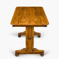 Late Regency Rosewood End Support Table Gillows or Holland & Sons (7 of 8)
