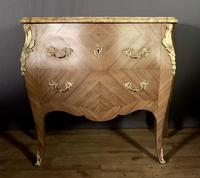 Superb Bleached Walnut Bombe Commode (7 of 9)