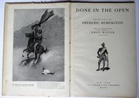 Done in the Open, Frederic Remington first edition, true Wild West pictures 1902 (8 of 8)