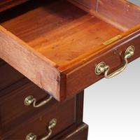 Edwardian mahogany large pedestal desk (9 of 14)