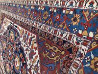 Antique Khamseh Rug 2.04m x 1.41m (5 of 10)
