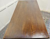 Large Country Oak Refectory Table (4 of 5)