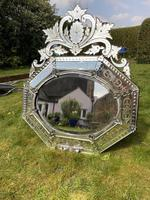 Large 19th Century Venetian Mirror (3 of 6)