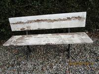 Victorian Cast Iron & Wood Garden Bench (3 of 5)