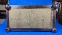 Regency Rosewood Brass Foliate Inlaid Tea Caddy (7 of 15)