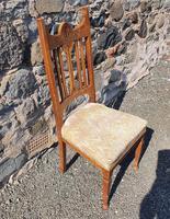 Glasgow School Oak Single Hall Chair (2 of 5)