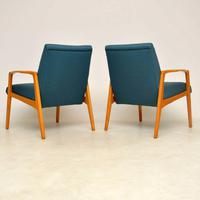 1960's Pair of Swedish  Vintage Armchairs (3 of 12)