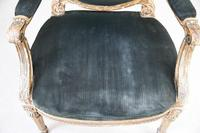 Giltwood & Gesso Fauteuil in Louis XVI Style (3 of 12)