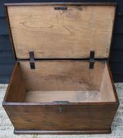 Lovely 19th Century Elm Box / Chest / Blanket Box c.1830 (6 of 13)