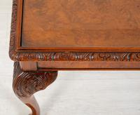 Superb Walnut Queen Anne Style Coffee Table (4 of 7)