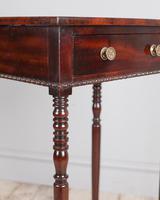 Regency Mahogany Side Table (3 of 7)