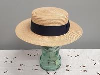 Borsalino Straw Boater Hat (4 of 8)