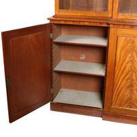 Georgian Mahogany Breakfront Bookcase (5 of 6)