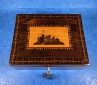 William IV Early Mosaic Tunbridge Ware Table Box (6 of 20)