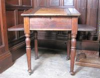 Antique pine school desk (4 of 5)