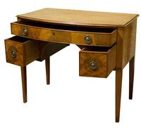 George III Mahogany Bowfronted Dressing Table c1780 (5 of 7)
