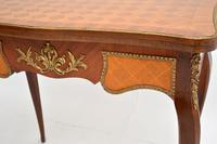 Antique French Inlaid Parquetry Card Table (9 of 12)