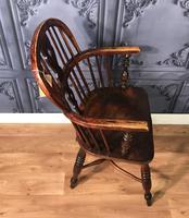 Low Back Ash & Elm Windsor Chair (4 of 8)