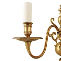 Early 20th Century Brass Wall Sconce (2 of 7)