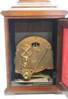 Fine Vintage Caddy Top Mantel Clock Dual Musical Bracket Clock by Elliott (11 of 13)