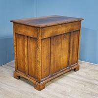 Oak Knee-hole Desk (9 of 9)