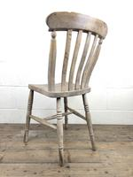 Set of Four Antique Farmhouse Kitchen Chairs (8 of 15)