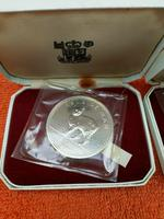 12 x 1970 Isle of Man One Crown Silver Proof Coins - Manx Tailless Cat - Cased (2 of 5)