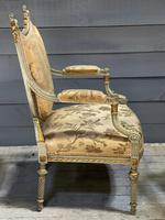 Super Pair of French Upholstered Armchairs (23 of 26)