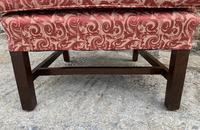 Victorian Mahogany Framed Wing Armchair (12 of 15)