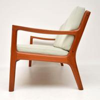 1960's Danish Teak Vintage 3 Seat Sofa by Ole Wanscher (5 of 10)