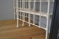 Matching Pair of Victorian Beds, 3ft Single Brass & Iron Bedsteads (9 of 12)